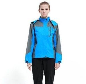 Diamond Candy Hooded Softshell Waterproof Jacket