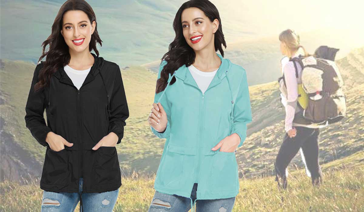 Best Lightweight Packable Rain Jacket For Women