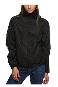 Zeagoo Lightweight Rainwear Active Outdoor Hoodie Jacket