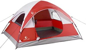Lightweight Waterproof Portable Backpacking Tent by Alpha Camp