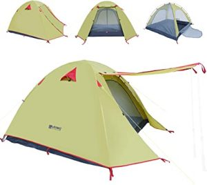 Professional Weatherproof Backpacking Tent by Weanas