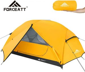 Waterproof and Windproof Ultralight Backpack Tent by Forceatt