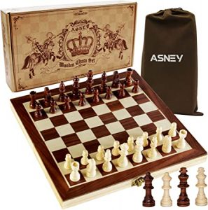 ASNEY Magnetic Chess Game Board Set
