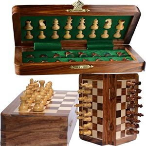 ChessBazar Magnetic Travel Chess Board