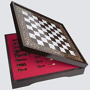 LaModaHome Wooden Chess Board