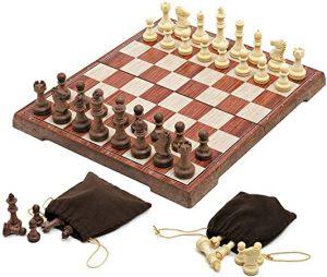 USHunter Magnetic Folding Chess Set
