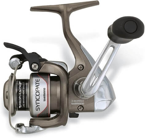 Shimano Syncopate Front Drag, Freshwater Spinning Fishing Reel