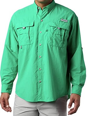 Columbia Men's PFG Bahama II Long Sleeve Fishing Shirt