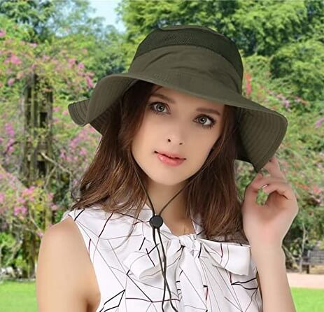 EONPOW Fishing Hats UPF50+ UV