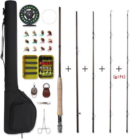 NetAngler Fly Fishing Rod and Reel Combo