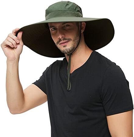 Super Wide Brim Sun Hat UPF50+
