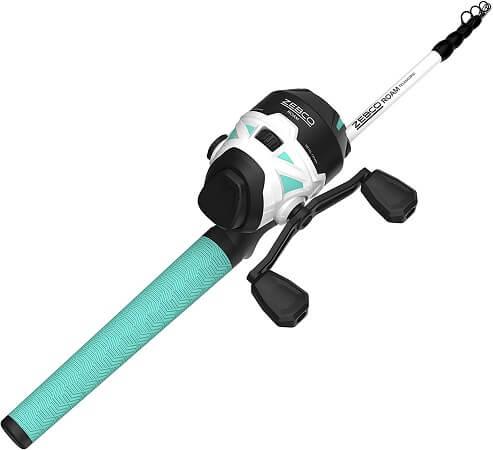 Zebco Roam Telescopic Fishing Rod and Reel Combo